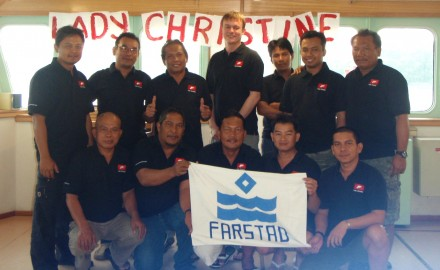 Crew of Lady Christine